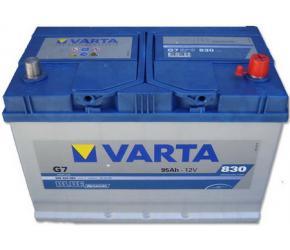 Купить аккумуляторы Бош Варта 12 вольт 95 ампер прямой